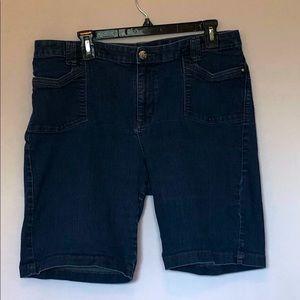 Lee So Slimming Ladies Jean Shorts